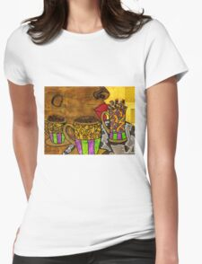 I'll Take Three Cups of Java Please Womens Fitted T-Shirt