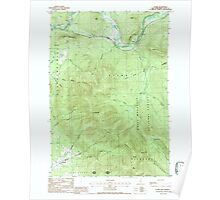 USGS TOPO Map New Hampshire NH Stark 329805 1988 24000 Poster