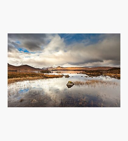 Loch Na h-Achlaise Photographic Print