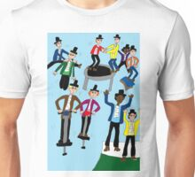 Ten Lords A-Leaping Unisex T-Shirt