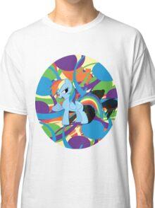 Cool Rainbow Dash  Classic T-Shirt