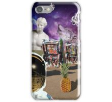 Astronaut Invaders In The Cadillac Desert iPhone Case/Skin
