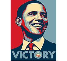 Obama VICTORY! Photographic Print