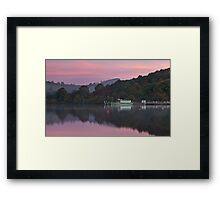 The First Colours Of Morning Framed Print