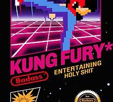 Kung Fu Retro Game by javiclodo