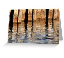 Retaining Wall 1 Greeting Card