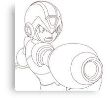 Megaman Canvas Print