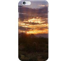 Sunrise Done Arizona Style  iPhone Case/Skin