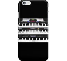 Modern Synthesizers / Keyboards iPhone Case/Skin