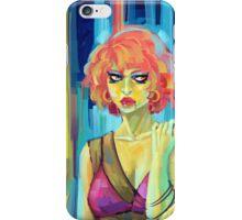 Green Woman iPhone Case/Skin