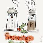 Seasonings greetings by twisteddoodles