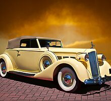 Packard Super 8 Cabriolet by DaveKoontz