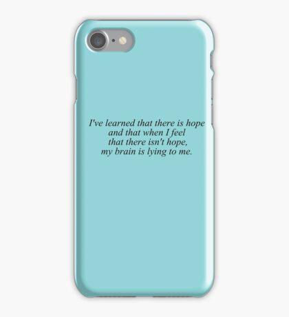 My Brain Lies iPhone Case/Skin
