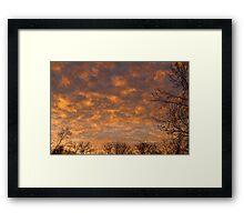 Sunrise 360 Framed Print