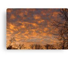Sunrise 360 Canvas Print
