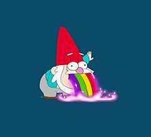 Rainbow Barfing Gnome by Misty Lemons