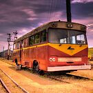 Cooma Railway Station Pay Bus/Train by Kym Bradley