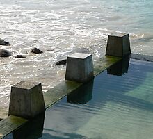 Coogee Pools Structuring The Ocean by Carien