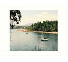 Newcastle Island, Marine Provincial Park, Canada  Art Print