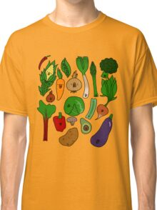 Happy Veggies Classic T-Shirt