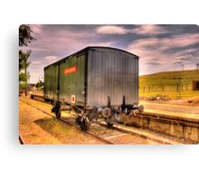 Explosives Wagon Cooma Railway NSW Canvas Print