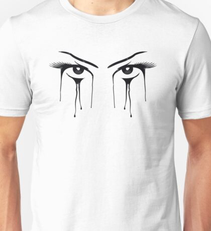 Womans Eyes Look Stare Unisex T-Shirt