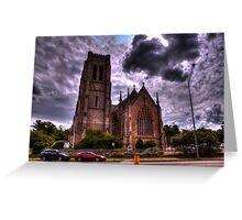 St Saviours Goulburn NSW Greeting Card