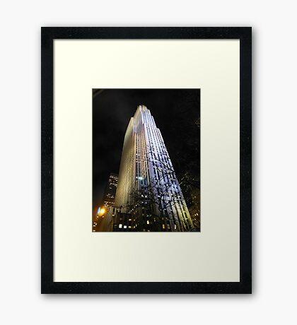 30 Rock NYC Framed Print