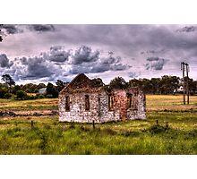 Church Ruins Hume Highway NSW Photographic Print