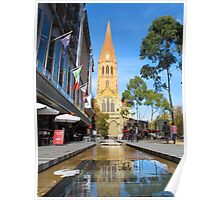St Paul's Cathedral, Melbourne Poster