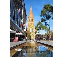 St Paul's Cathedral, Melbourne Photographic Print