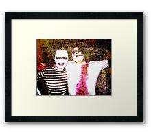 Villains Framed Print