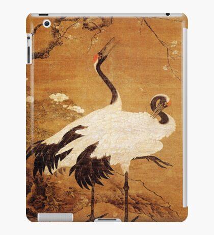 iPad Cover-Pair of Cranes iPad Case/Skin