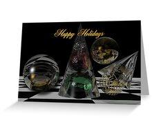 December magic Holidays card Greeting Card