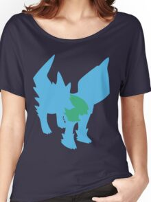 PKMN Silhouette - Electrike Family Women's Relaxed Fit T-Shirt