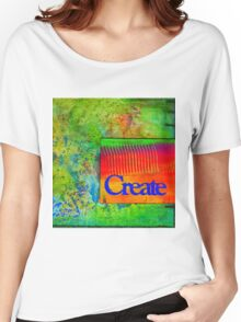 CREATE Women's Relaxed Fit T-Shirt