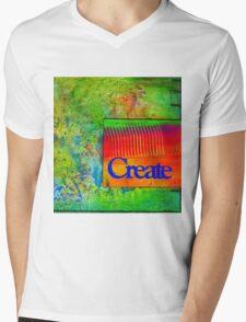 CREATE Mens V-Neck T-Shirt