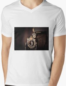 Old camera Mens V-Neck T-Shirt