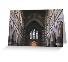 St Paul's Cathedral, inside Greeting Card
