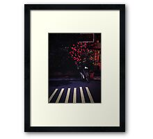 lane Framed Print