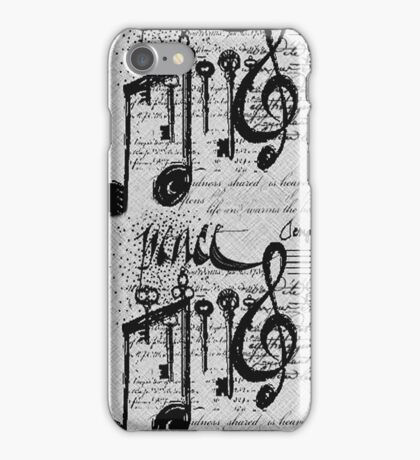 Music Notes Iphone Cover iPhone Case/Skin