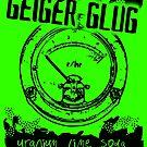 Geiger Glug Post Apocalyptic Soda Label by GrimDork