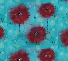 Poppies (2) by Zsuzsa Goodyer