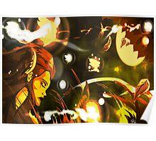 Autumn Wisps Poster
