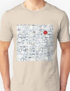Tech with red ball T-Shirt