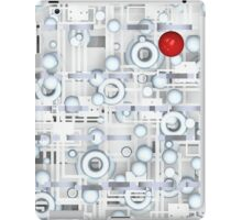 Tech with red ball iPad Case/Skin