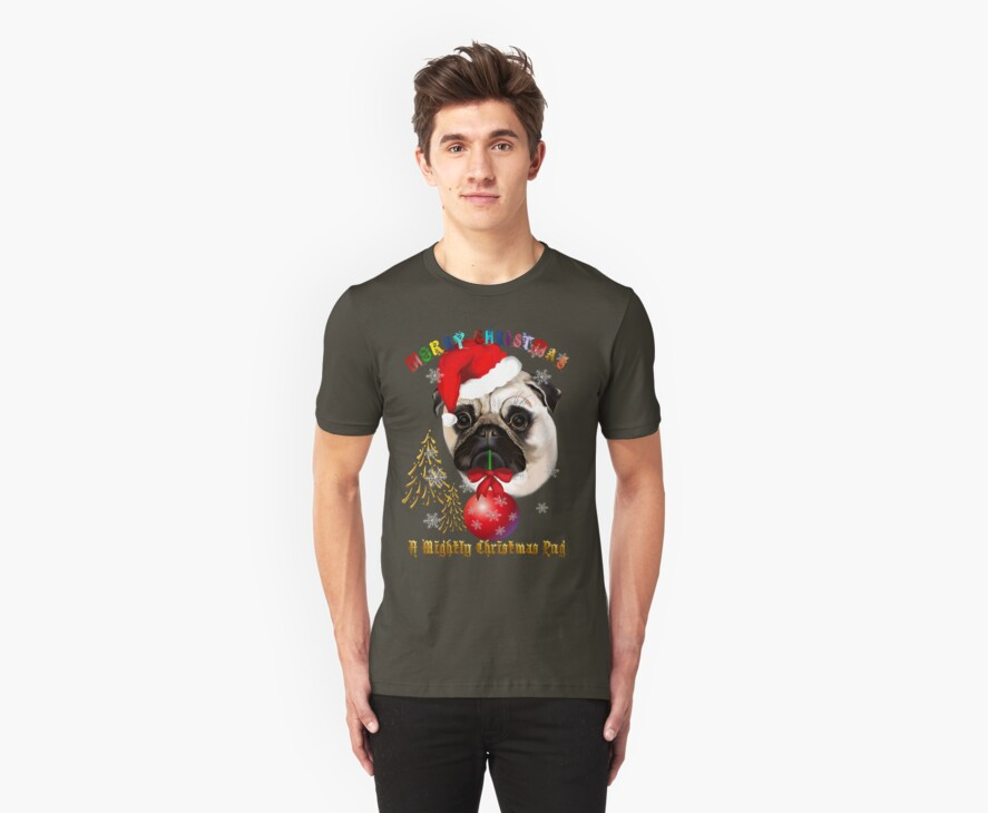 A Mighty Christmas Pug by Lotacats