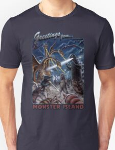 Godzilla Monster Island Kaiju Battle T-Shirt