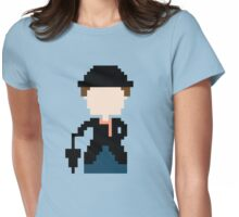 8-Bit Mary Poppins Womens Fitted T-Shirt