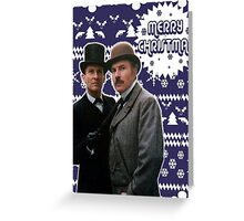 Merry Christmas [Brett's Sherlock] Greeting Card